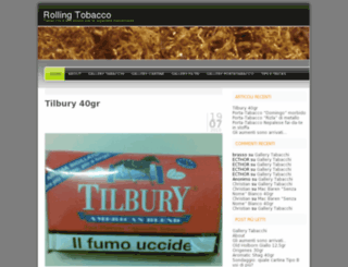 rollingtobacco.wordpress.com screenshot