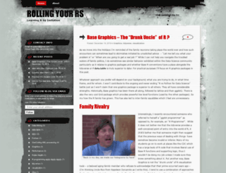 rollingyours.wordpress.com screenshot