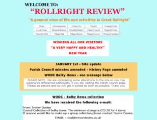 rollrightreview.webplus.net screenshot