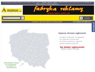 rolnictwo.anonse.pl screenshot