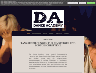 roma-dance-academy.at screenshot