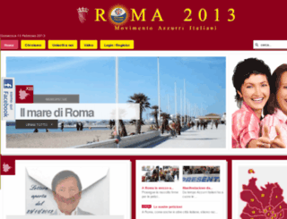 roma2013.it screenshot