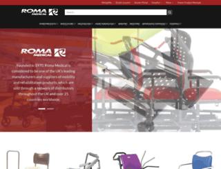 romamedical.co.uk screenshot