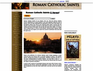 roman-catholic-saints.com screenshot