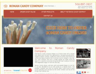 romancandy.gourmetfoodmall.com screenshot