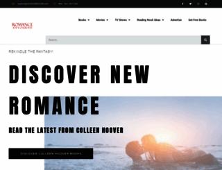 romancedevoured.com screenshot