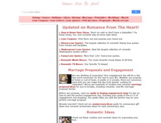 romancestuck.com screenshot
