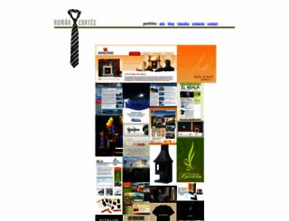 romancortes.com screenshot