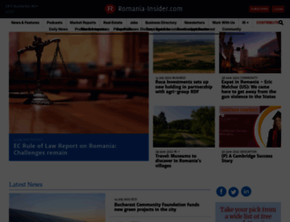 romania-insider.com screenshot
