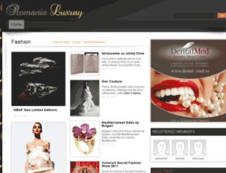 romanialux.com screenshot