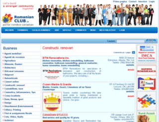 romanianclub.ca screenshot