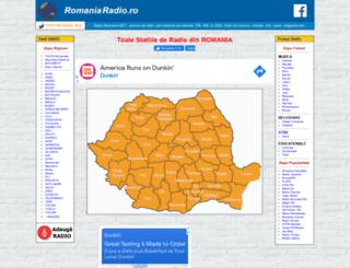 romaniaradio.ro screenshot