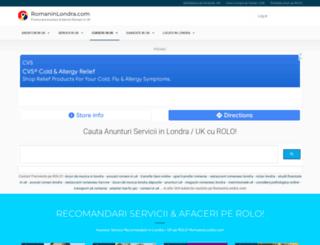 romaninlondra.com screenshot