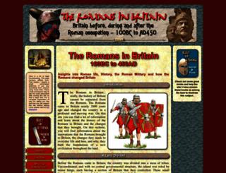 romanobritain.org screenshot