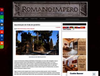 romanoimpero.com screenshot
