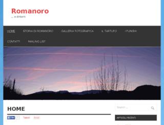 romanoro.com screenshot