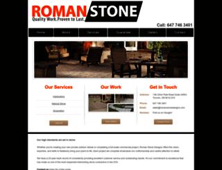 romanstonedesigns.com screenshot