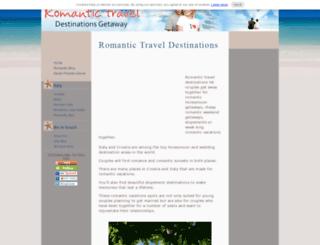 romantic-travel-destinations-getaway.com screenshot