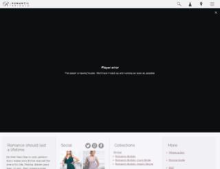 romanticbridals.com screenshot