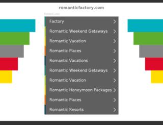romanticfactory.com screenshot