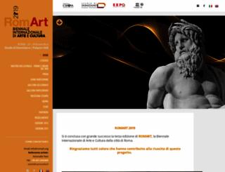 romart.org screenshot