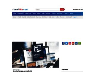 romeltea.com screenshot