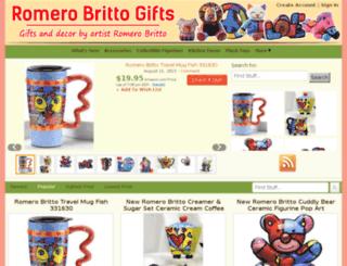 romerobrittogifts.com screenshot
