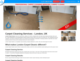 romford.carpetcleanic.co.uk screenshot