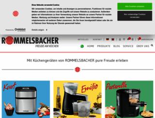 rommelsbacher.de screenshot