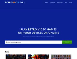 romsmania.com screenshot