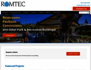romtec.com screenshot