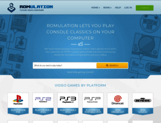 romulation.net screenshot