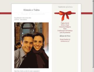 romuloetalita.felizesparasempre.com screenshot