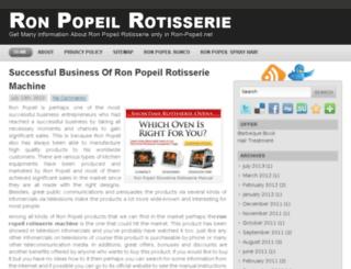 ron-popeil.net screenshot