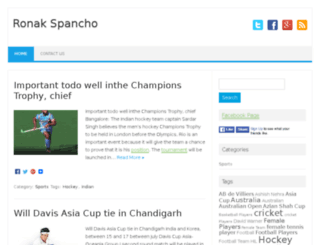 ronakspancho.com screenshot