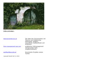 ronaldhell.at screenshot