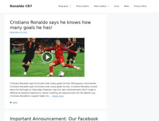 ronaldocr7.com screenshot
