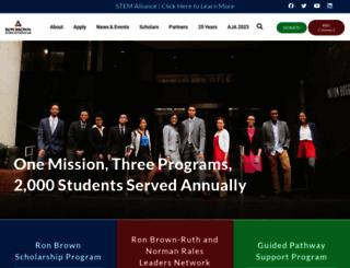 ronbrown.org screenshot