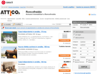 roncofreddo.attico.it screenshot