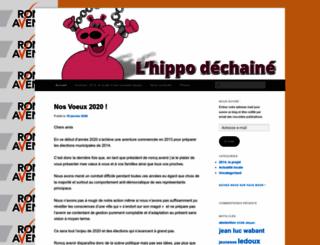 roncqavenir.wordpress.com screenshot