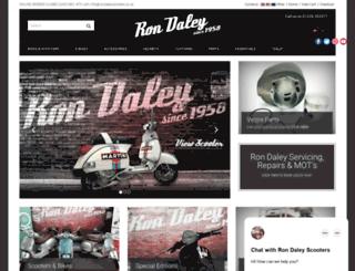 rondaleyscooters.co.uk screenshot