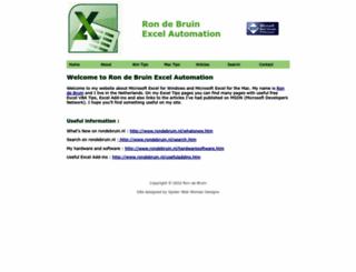 rondebruin.nl screenshot