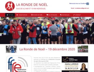 rondedenoel.fr screenshot