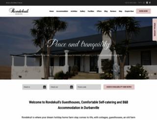 rondekuil.co.za screenshot
