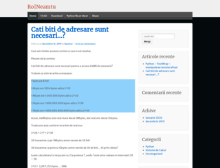 roneamtu.wordpress.com screenshot