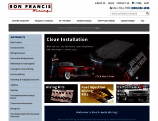 ronfrancis.com screenshot