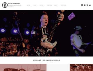 ronhawkins.com screenshot