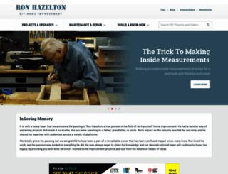 ronhazelton.com screenshot