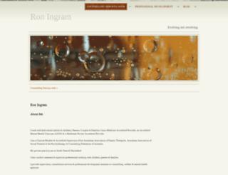 roningram.com.au screenshot