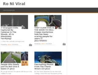 roniviral.com screenshot